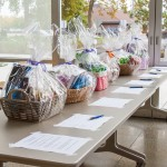 Silent Auction baskets at ROI 2013